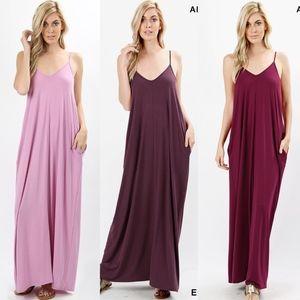 ELLIE Maxi Dress - 3 colors